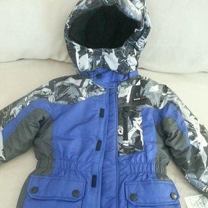Jackets & Blazers - Boy oshkosh OK-95 PROSnow ski jacket Blue & Gray
